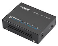 Pure Networking Media Converter - Gigabit Ethernet Single Mode 1310nm 15km SC