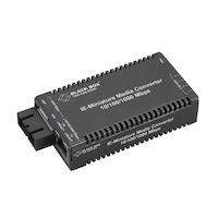 MultiPower Miniature Industrial Media Converter - 10/100/1000-Mbps Copper to 1000-Mbps Fiber Duplex, Multimode, 850-nm, 300 m
