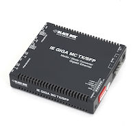 Media Converter Network Interface Device - (2) 10/100/1000-Mbps Copper to (2) SFP Copper/Fiber