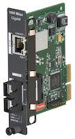 HDMCS II Gigabit Ethernet (1000-Mbps) Managed Media Converter - 1000-Mbps Copper to 1000-Mbps Multimode Fiber, 850nm, 0.3km, SC