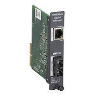 High-Density System II Media Converter Gigabit Ethernet Single Mode 1310nm 15km SC