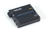 Media Converter Gigabit Ethernet PoE Multimode 850nm 550m SC