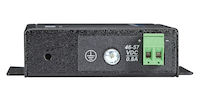 PoE Industrial Gigabit Ethernet Media Converter - Single-Mode, SC, 12-km