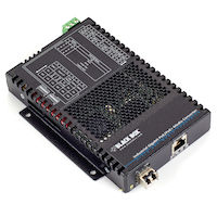 PoE+ Industrial Gigabit Ethernet Media Converter, SFP