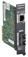 HDMCS II Gigabit Ethernet (1000-Mbps) Managed Media Converter - 10/100/1000-Mbps Copper to 1000-Mbps Multimode Fiber, 850nm, 0.3km, SC