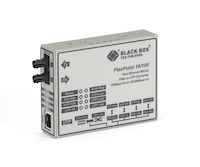 FlexPoint Modular Media Converter - 10BASE-T/100BASE-TX to 100BASE-FX, Single-Mode, Long-Distance, SC