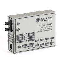 FlexPoint  Modular Media Converter - 10BASE-T/100BASE-TX to 100BASE-FX, Multimode, ST