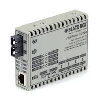 FlexPoint Modular Media Converter - 10BASE-T/100BASE-TX to 100BASE-FX, Multimode, SC