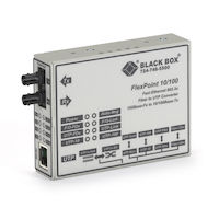 FlexPoint Fast Ethernet (100-Mbps) Media Converter - 10/100-Mbps Copper to 100-Mbps Singlemode Fiber, 1310nm, 28km
