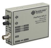 FlexPoint Modular Media Converter - ThinNet Ethernet, Single-Mode, 1310-nm, 30km, ST