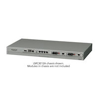 Dynamic Fiber Conversion System Media Converter Chassis 5-Slot Rackmount Managed with 1 DC Power Supply