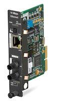 High-Density Media Converter System II Media Converter Ethernet Multimode 850nm 4km ST