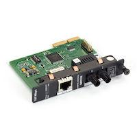 High-Density Media Converter System II Layer 1 Module - 100BASE-TX to 100BASE-LX, Single-Mode Plus, 1310-nm, 40 km, ST