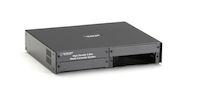High-Density Media Converter System II Chassis, Managed, 3-Slot Desktop, Dual AC Power