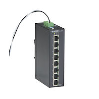 Industrial Unmanaged Gigabit PoE+ Switch - 8-Port