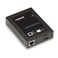 Media Converter Gigabit Ethernet PoE+ SFP