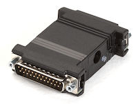 Async/Sync RS-232 Repeater - DB25 Male to DB25 Female