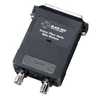 Async RS232 extender fiber DB25 Female ST