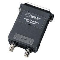 Async RS232 extender fiber DB25 Male ST