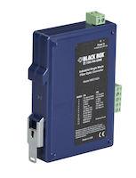 Async RS-232/422/485 Extender - Fiber, Terminal Block to Single-Mode SC