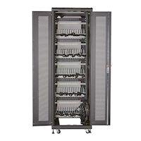 Mass Storage Cabinet - 60 Chromebook/Laptop Cable Management