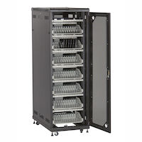 Mass Storage Cabinet   84 Tablets Cable Management