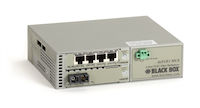 4 Port T1/E1 to Single Mode Fiber Extender 30 km Dual SC
