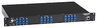 "Rackmount Gang Switch - 19"", 1U, (4) Duplex Multimode SC, Network Manageable"