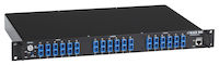 Gang Switch 1U 6 Duplex Multimode SC 19 inch Rackmount Network Manageable