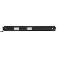 Horizontal PDU - 15-Amp Single Circuit, 120V, 12 5-15R Outlets with 6-ft. 5-15P Cord