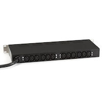 Horizontal Rackmount AC Power Strip - 12-Outlet, 30-Amp