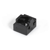 LockPORT Secure RJ45 Port Lock - Black