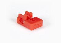 LockPORT LC Port Lock - Red, 25-Pack