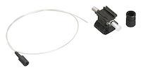 OM2 50-Micron Multimode Pre-Polished Fiber Optic Connector - ST, Black, 12-Pack
