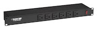 "19"" Rackmount Power Strip, 6 Front Outlets, Switchable"