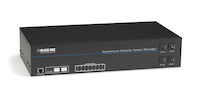 Horizontal Rackmount Remote Power Manager - 100–120-VAC, Dual-Circuit, 15-Amp, (16) NEMA 5-15 Outlet