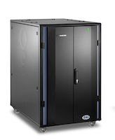 "Elite QuietCab Soundproof Server Cabinet - 24U, 49""H x 31""W x 48""D, M6 Rails, 1100 lb. Capacity"