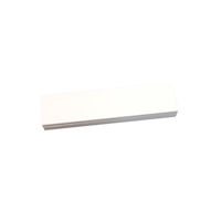 Blank Panel for Face Plates - 0.25 Units, White