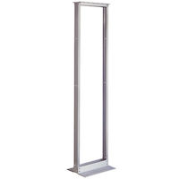 Aluminum Distribution Rack - 45U, 2-Post Rack, 19