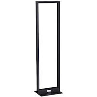 Aluminum Distribution Rack - 38U, 2-Post Rack, 19