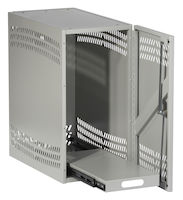 CPU Security Cabinet - Light Gray