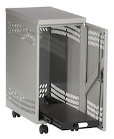 Mobile CPU Security Cabinet