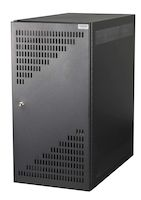 CPU Security Cabinet - Black