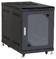 Select Plus Network Cabinet - 15U, Split Rear Door, 24