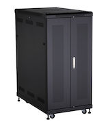 Select Plus Server Cabinet - 24U, Split Rear Door, 24