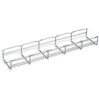 "BasketPAC Cable Tray Section - 2""H x 78""L (5.1 x 198.1 cm), 4""W (10.2 cm), 4-Pack"