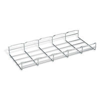 "BasketPAC Cable Tray Section - 2""H x 78""L x 8""W, Steel, 4-Pack"