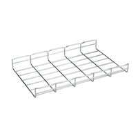 "BasketPAC Cable Tray Section - 2""H x 78""L x 12""W, Steel, 4-Pack"