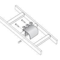 Ladder Rack Radius Drop Kit - Gray