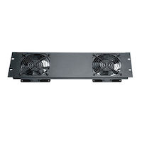 Quiet Fan Panel with (2) Fans - 3U